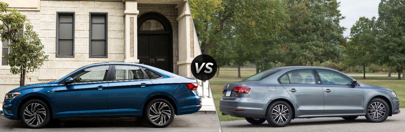 2019 Volkswagen Jetta vs 2018 Volkswagen Jetta