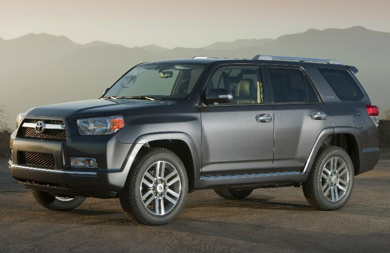 2010 Toyota 4Runner parked in desert