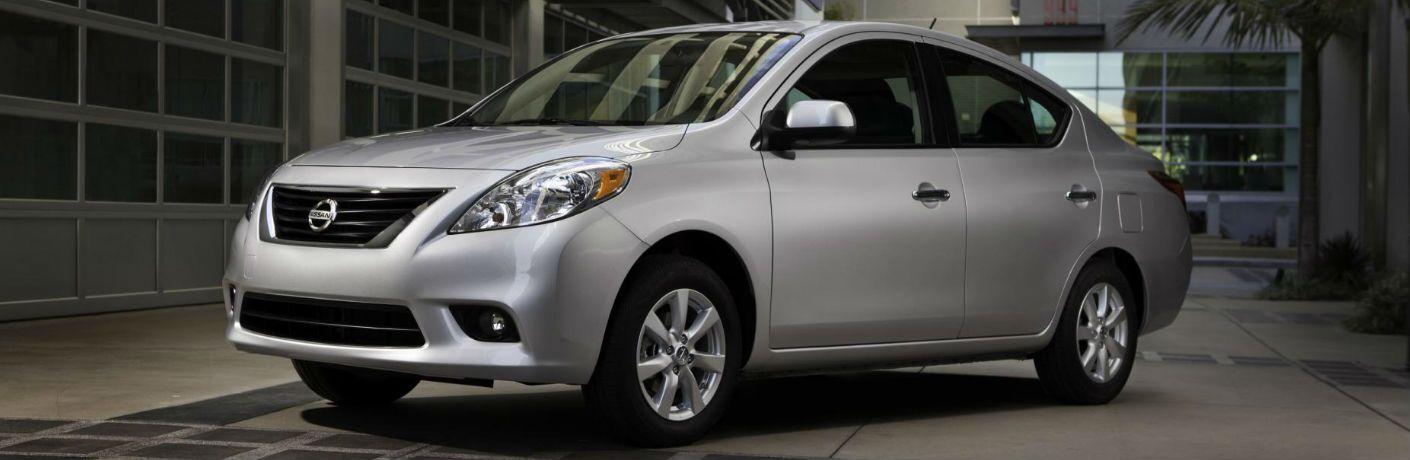 silver 2012 Nissan Versa
