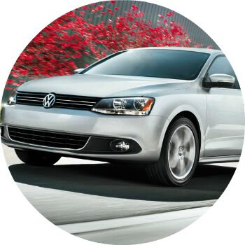 silver 2012 VW Jetta exterior front