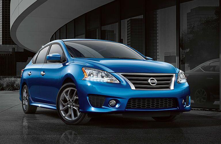 blue 2013 Nissan Maxima parked