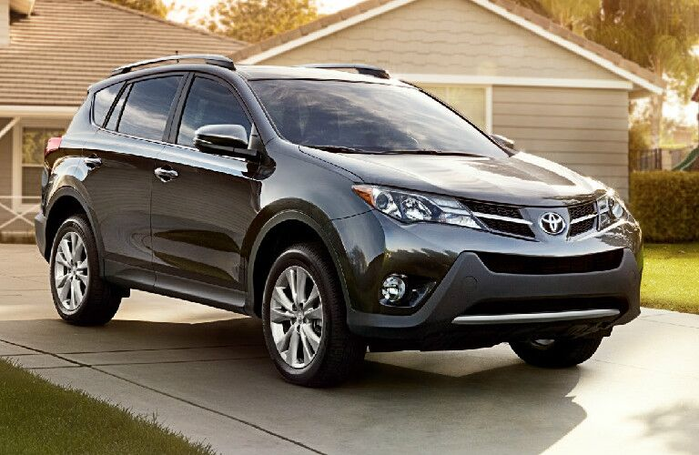 2013 Toyota RAV4 parked in driveway