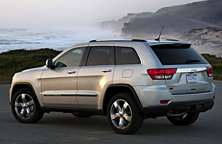 The Jeep Grand Cherokee is one of the largest Jeep models.