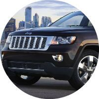 The Jeep Grand Cherokee can carry more passengers or cargo.