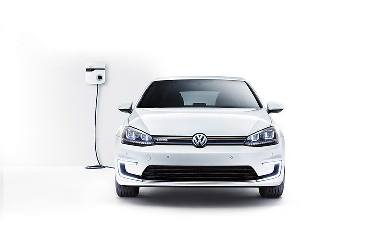 The 2016 e-Golf lithium-ion battery pack