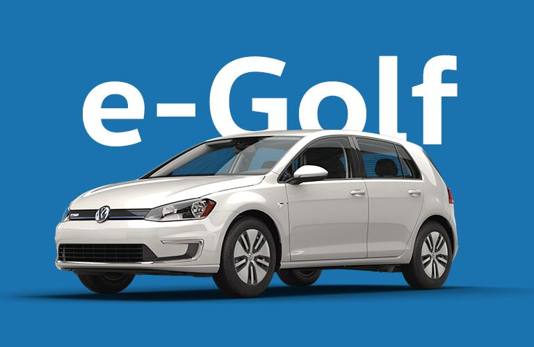 Volkswagen e-Golf model research