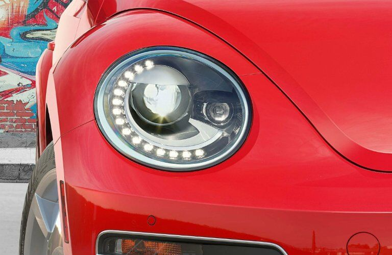 2017 vw beetle convertible bi-xenon headlights