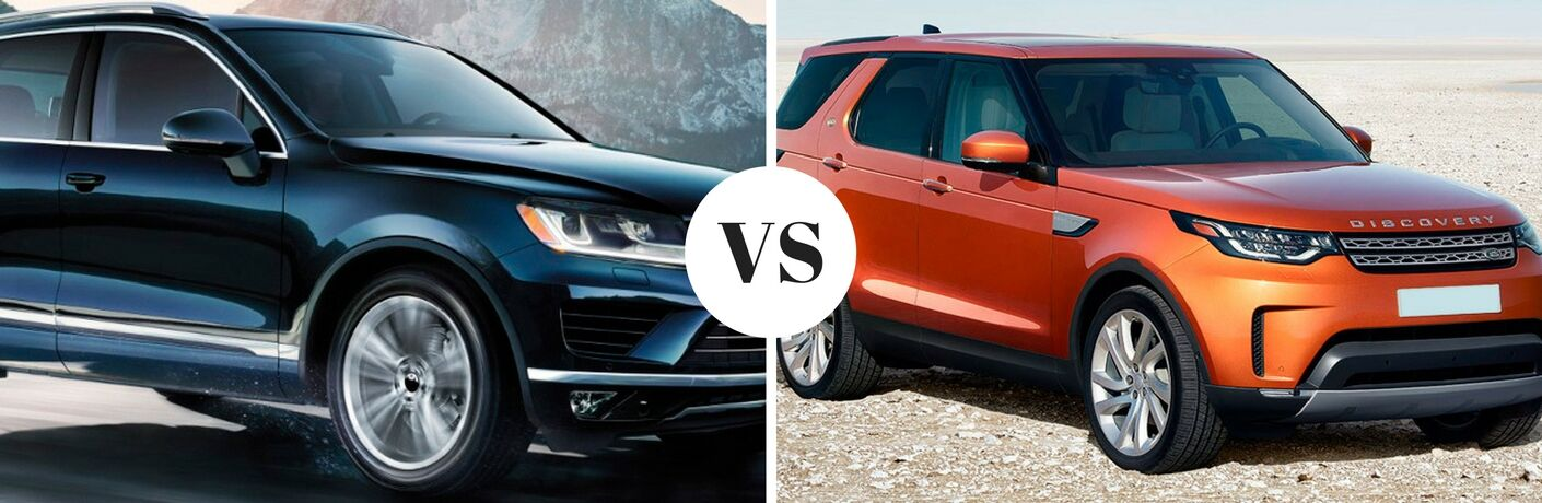 2017 VW Touareg vs 2017 Land Rover Discovery