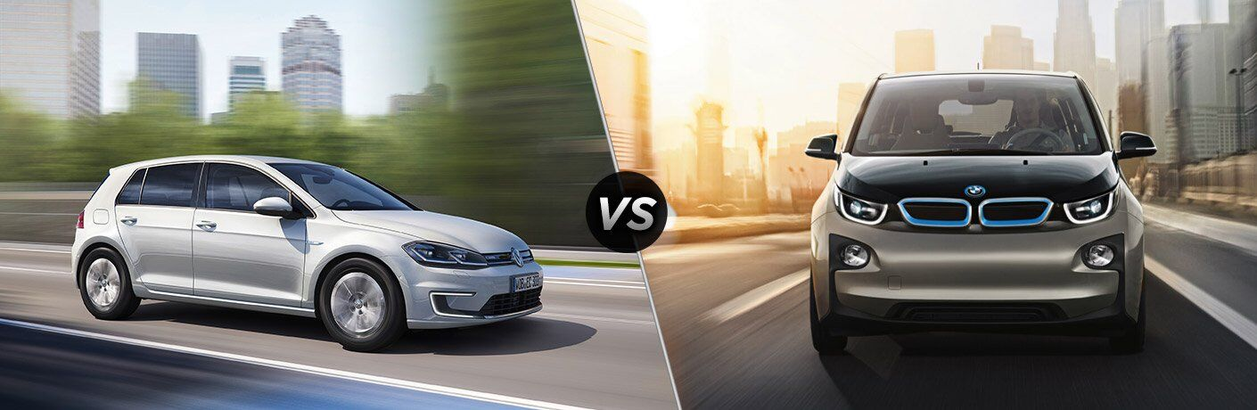 2017 Volkswagen e-Golf vs 2017 BMW i3