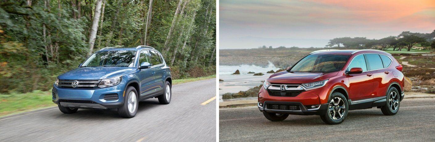 2017 Volkswagen Tiguan vs 2017 Honda CR-V