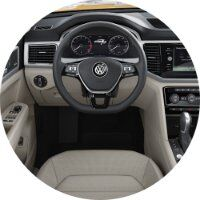 2018 Volkswagen Atlas steering wheel