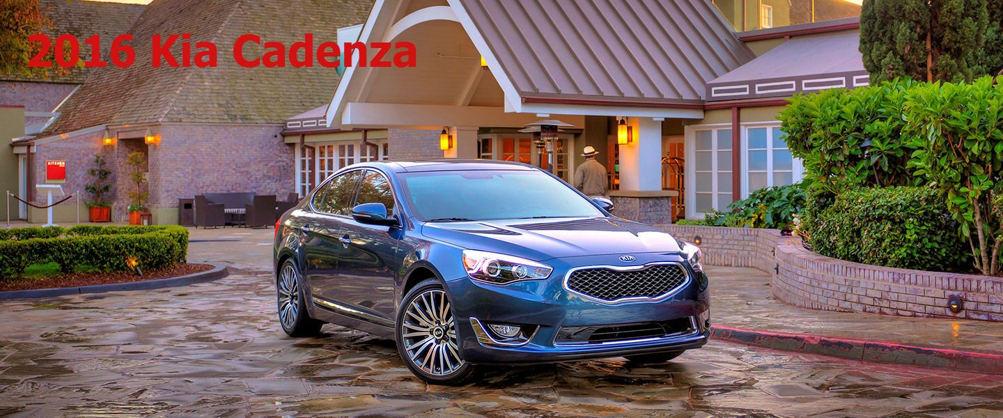 2016 Kia Cadenza model information Boucher Kia Milwaukee WI