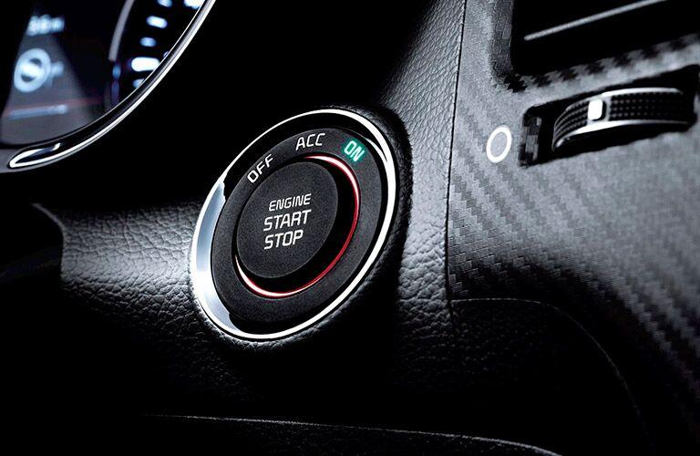 Kia push button start feature