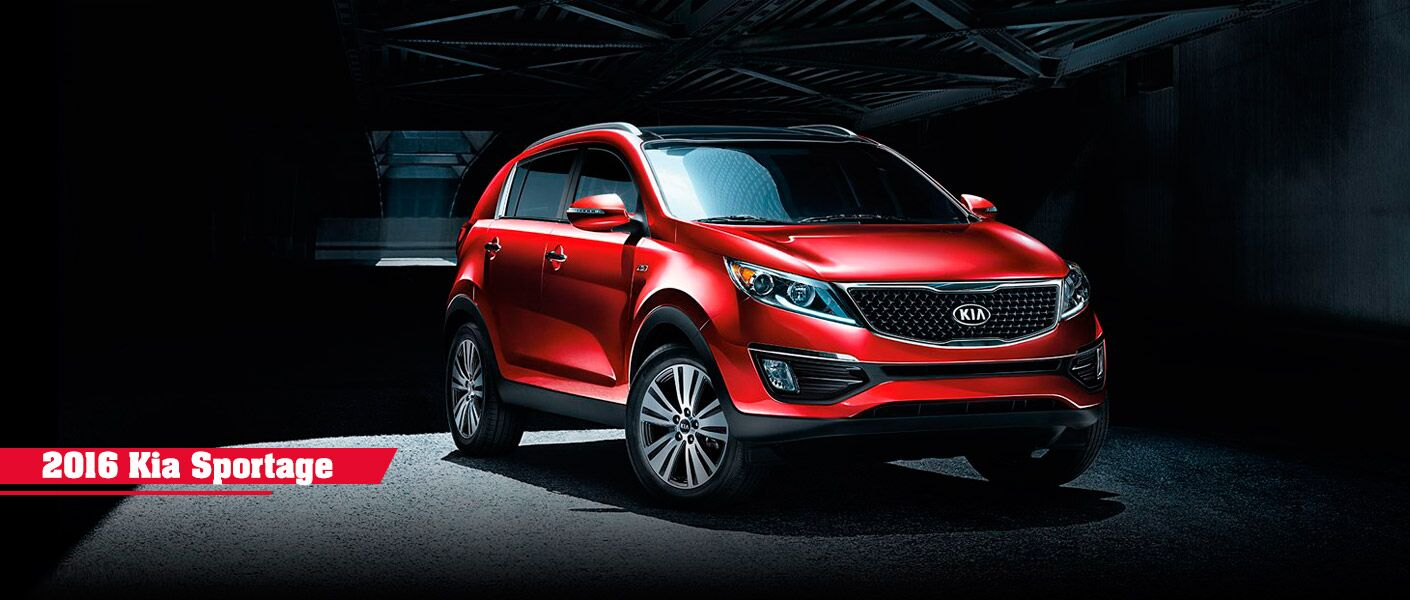 2016 Kia Sportage red Boucher Kia Milwaukee, WI