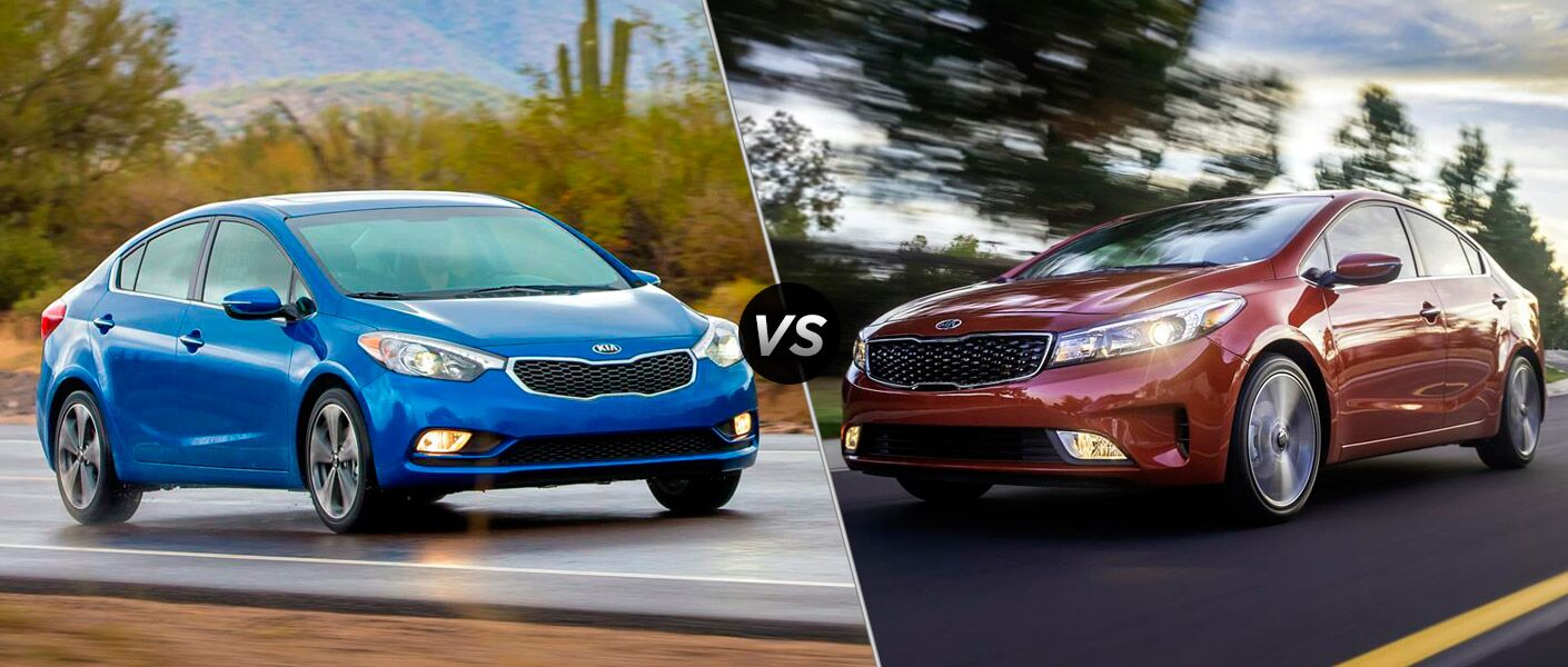 2016 Forte vs 2017 Forte Comparison Boucher Kia