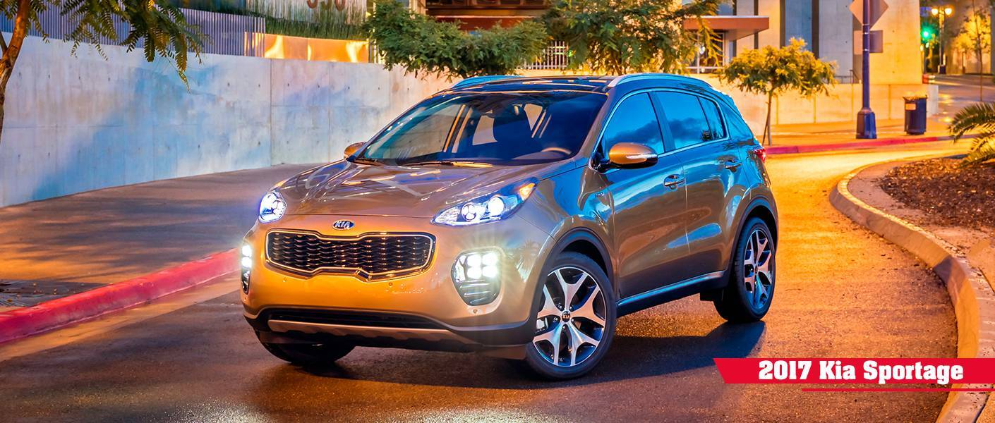 new 2017 kia sportage features