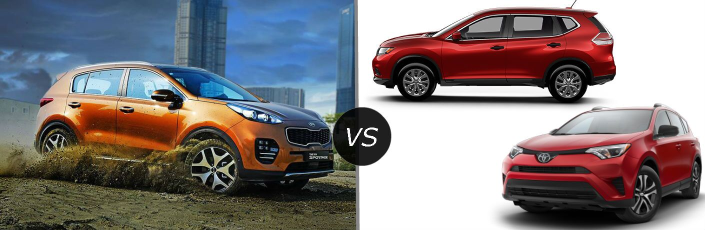 2017 Sportage crossover comparison