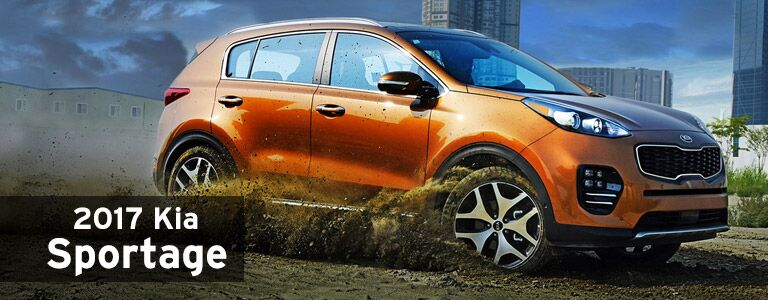2017 Kia Sportage burnished orange