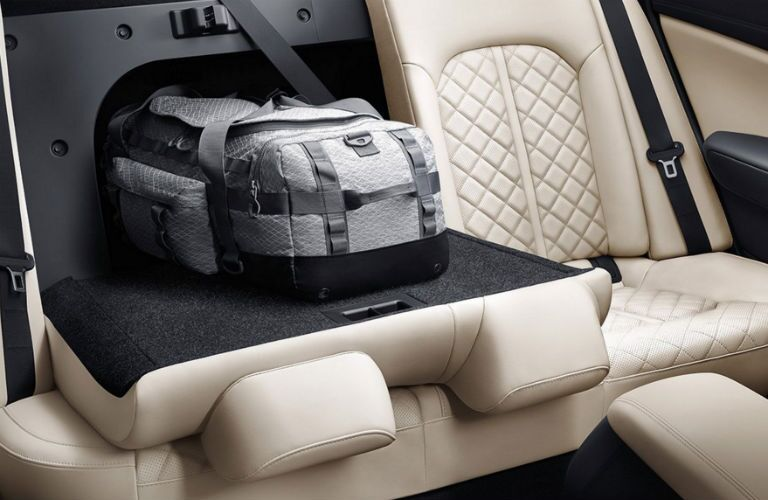 2016 Optima Split folding rear seats