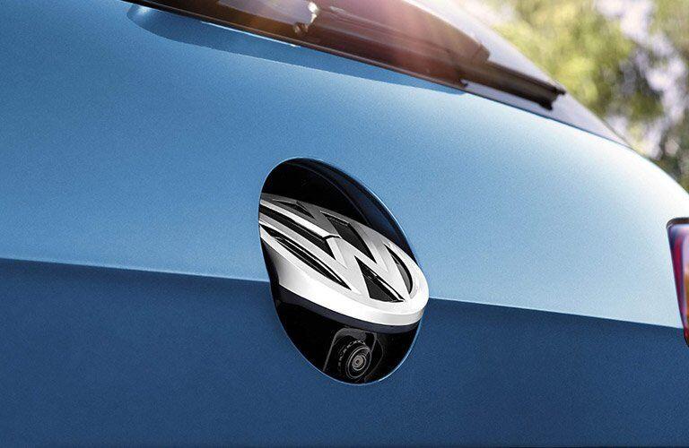 Rear view camera in 2017 Volkswagen Golf