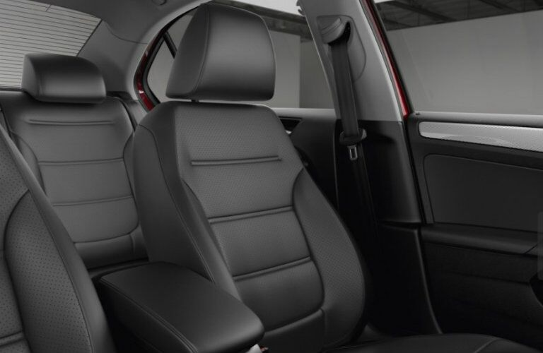 Interior seating of 2017 Volkswagen Jetta