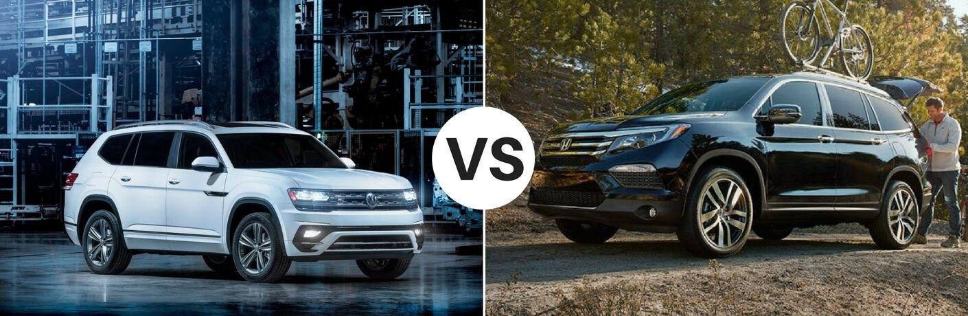 2018 Volkswagen Atlas vs 2017 Honda Pilot