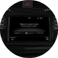 2017 Volkswagen Golf Alltrack 6.5-inch infotainment system