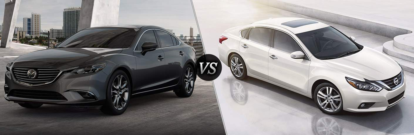 2017 mazda6 vs 2017 nissan altima