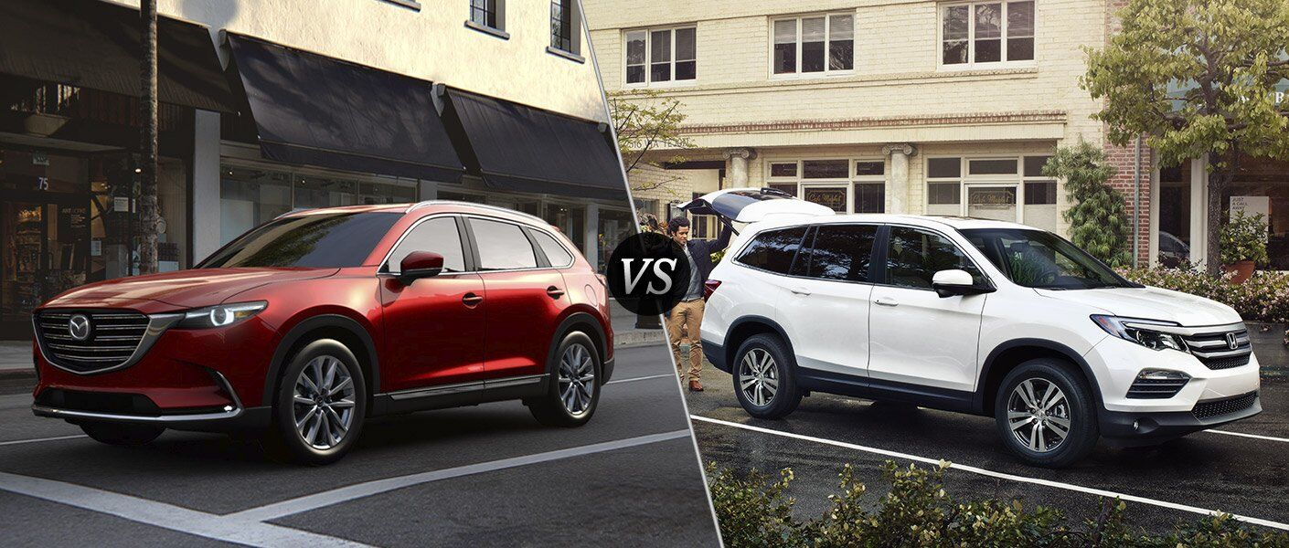 2017 mazda cx 9 vs 2017 honda pilot. Black Bedroom Furniture Sets. Home Design Ideas