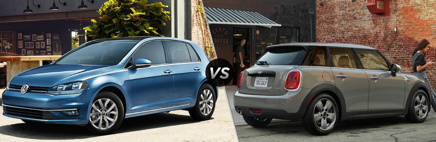 2019 Volkswagen Golf S vs 2019 MINI Cooper Hardtop