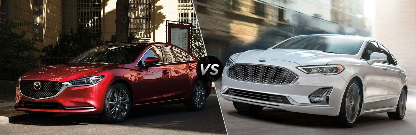 2019 Mazda6 vs 2019 Ford Fusion