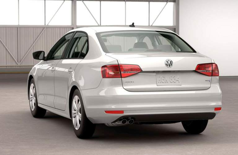 2015 Volkswagen Jetta rear exterior