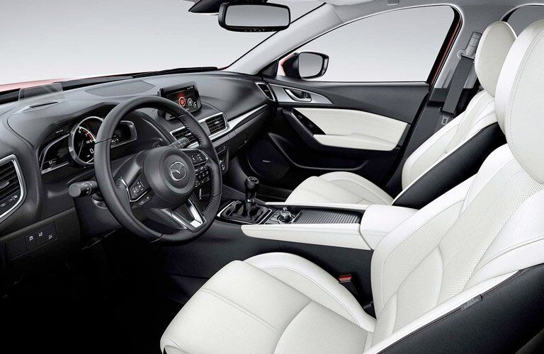 2017 mazda3 interior dashboard seats