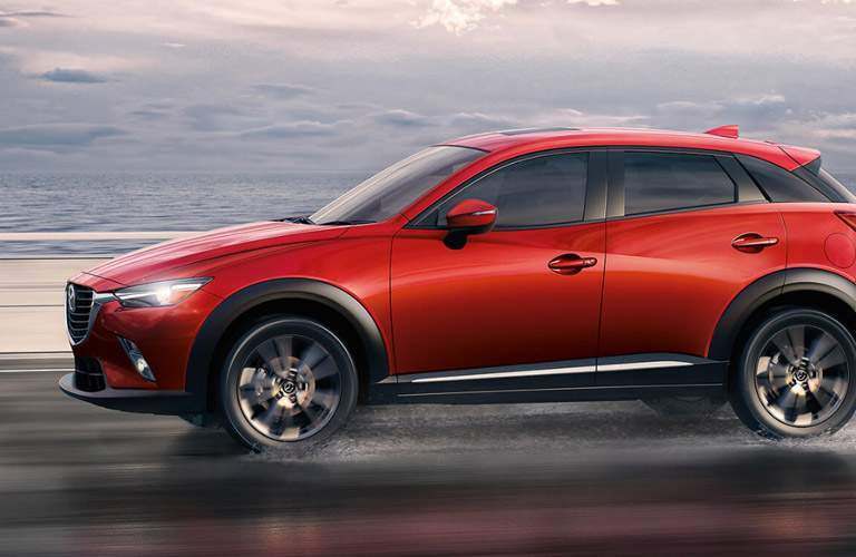 2017 Mazda CX-3 on the road