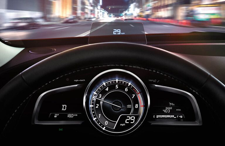2017 mazda cx-3 active driving display