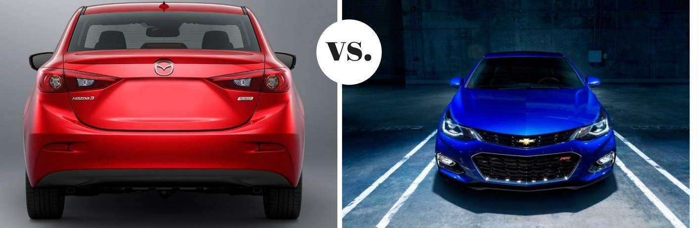 2017 Mazda3 vs 2017 Chevy Cruze