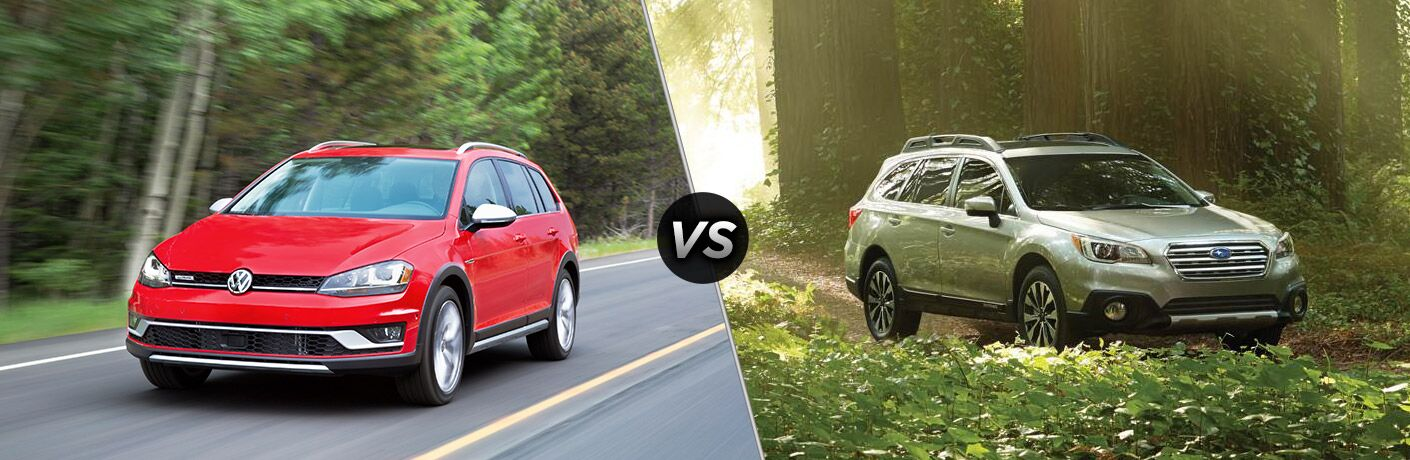 2017 vw golf alltrack vs 2017 subaru outback