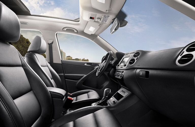 2017 volkswagen tiguan interior front dashboard