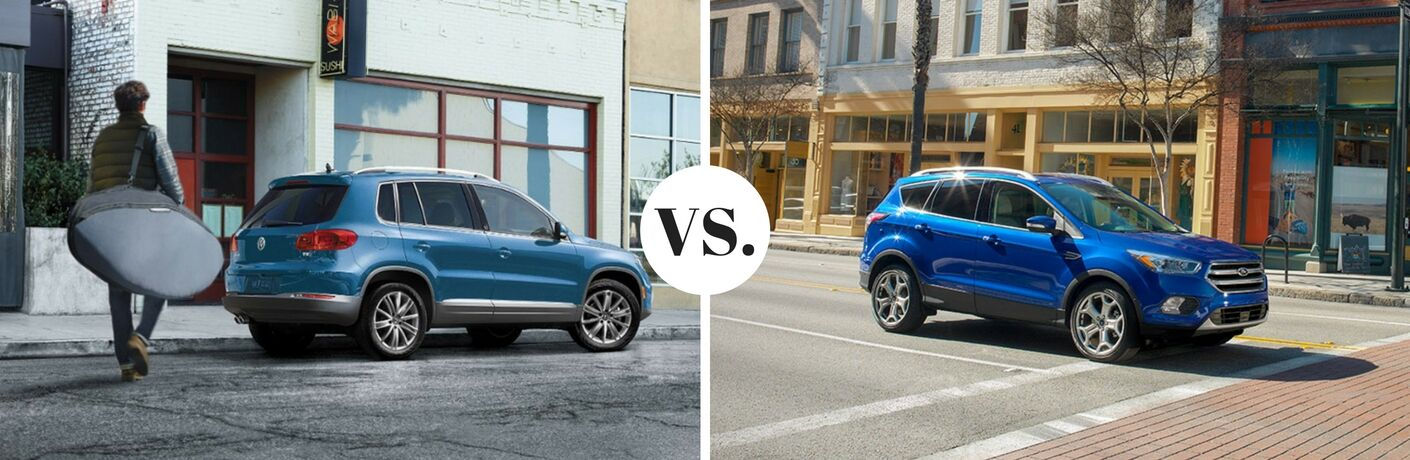 2017 volkswagen tiguan vs 2017 ford escape