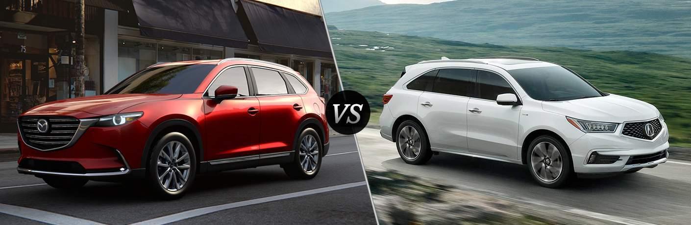 2018 Mazda CX-9 vs 2018 Acura MDX