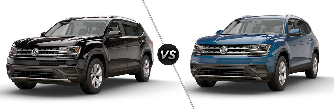 2018 volkswagen atlas s vs 2018 volkswagen atlas launch