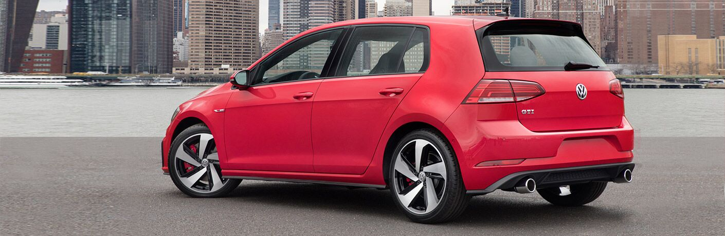 2019 VW Golf GTI exterior profile