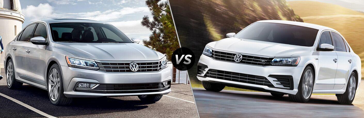 2019 Volkswagen Passat vs 2018 Volkswagen Passat
