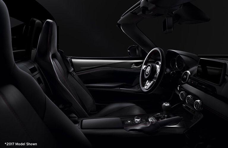 2018 Mazda MX-5 Miata front interior