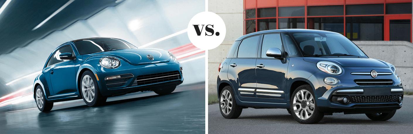 2018 Volkswagen Beetle vs 2018 FIAT 500L