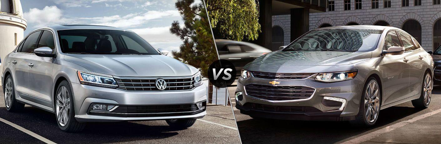 2018 Volkswagen Passat vs 2018 Chevy Malibu