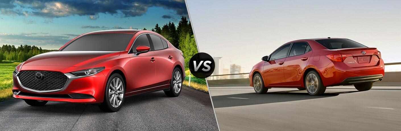 2019 Mazda3 vs 2019 Toyota Corolla