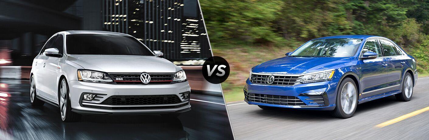 2018 Volkswagen Jetta vs 2018 Volkswagen Passat