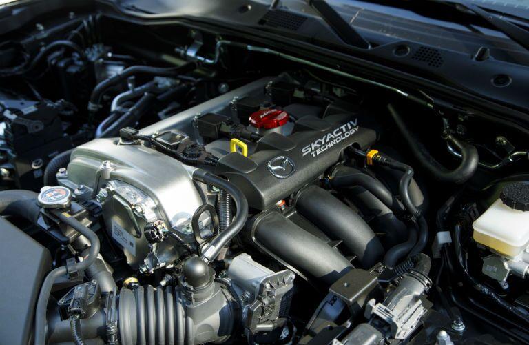 2019 Mazda MX-5 Miata engine bay