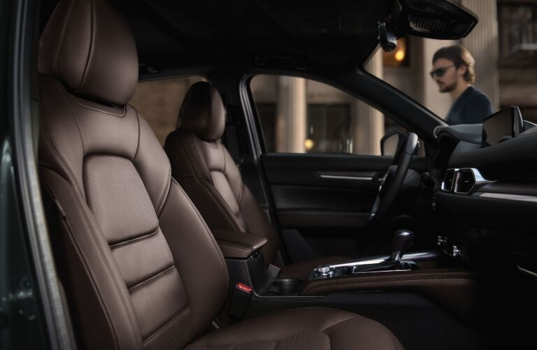 2020 CX-5 front seating showcase